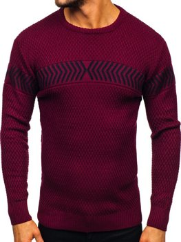 Men's Jumper Claret Bolf 0001