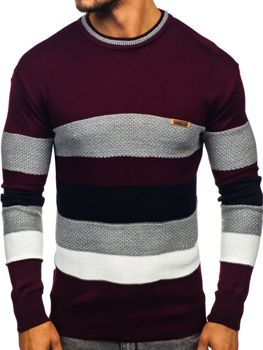 Men's Jumper Claret Bolf 04
