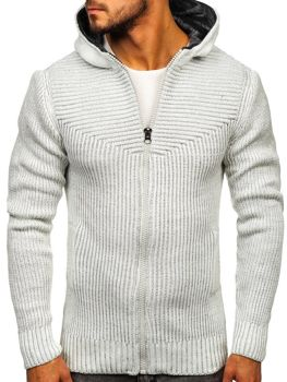 Men's Jumper Ecru Bolf 20008
