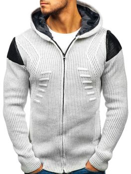 Men's Jumper Ecru Bolf 20009
