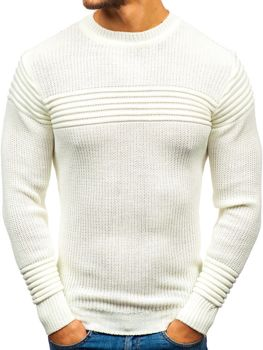 Men's Jumper Ecru Bolf 6004