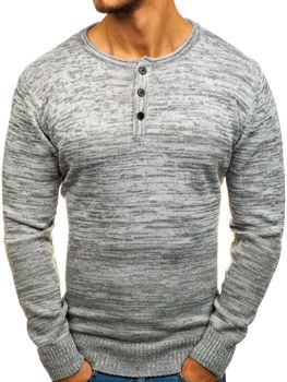 Men's Jumper Grey Bolf H1821