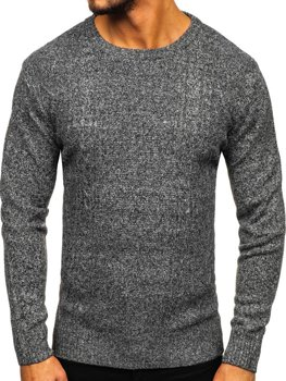 Men's Jumper Grey Bolf H1937
