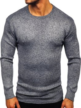 Men's Jumper Navy Blue Bolf 8529
