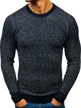 Men's Jumper Navy Blue Bolf H1818