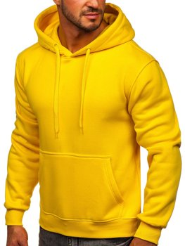 Men's Kangaroo Hoodie Light Yellow Bolf 2009
