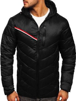 Men's Lightweight Jacket Black Bolf M13008