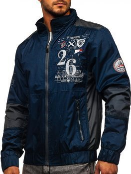 Men's Lightweight Jacket Blue Bolf 742