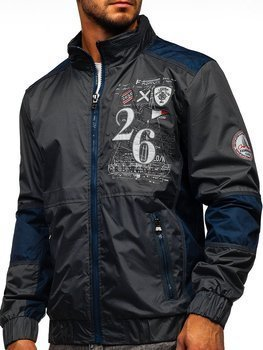 Men's Lightweight Jacket Graphite Bolf 742