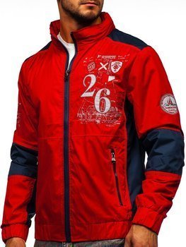 Men's Lightweight Jacket Red Bolf 742