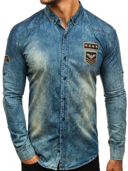 070ffb8740 Men s Denim Shirts Spring Summer 2019 - Bolf Online Shop