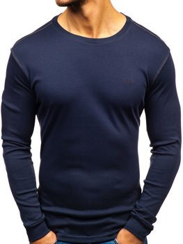Men's Plain Long Sleeve Top Graphite Bolf 145359