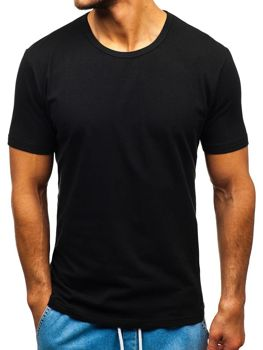 Men's Plain T-shirt Black Bolf T1280