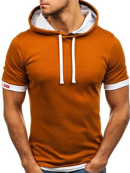 Men's Plain T-shirt Camel Bolf 08