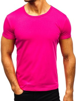 Men's Plain T-shirt Dark Pink Bolf AK999A