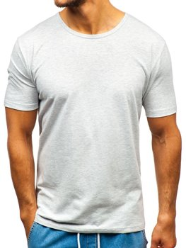Men's Plain T-shirt Grey Bolf T1281