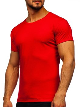 Men's Plain T-shirt Red Bolf 2005