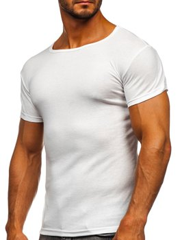Men's Plain T-shirt White Bolf NB003