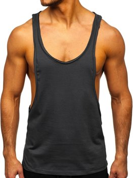Men's Plain Tank Top Graphite Bolf 1245