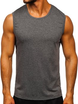 Men's Plain Tank Top Graphite Bolf 99001