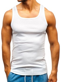 Men's Plain Undershirt White Bolf C10043
