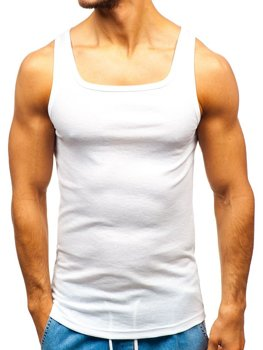 Men's Plain Undershirt White Bolf C10048
