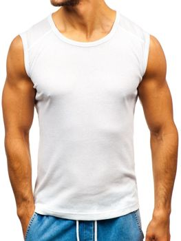 Men's Plain Undershirt White Bolf C3066