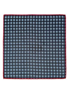 Men's Pocket Square Navy Blue Bolf PO14