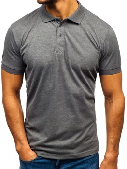 Men's Polo Shirt Anthracite Bolf 171221