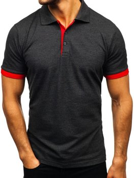 Men's Polo Shirt Anthracite Bolf 171222