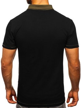 Men's Polo Shirt Black Bolf 2058