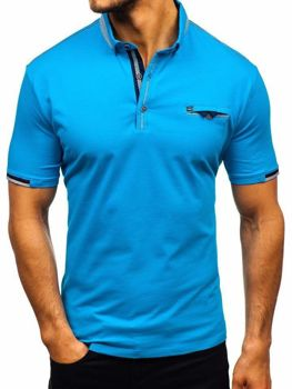 Men's Polo Shirt Blue Bolf 192034