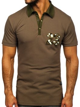 Men's Polo Shirt Khaki Bolf 2058