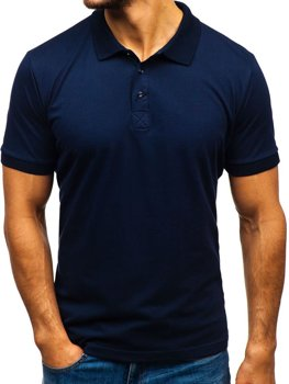 Men's Polo Shirt Navy Blue Bolf 171221
