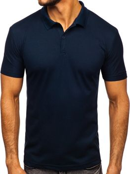 Men's Polo Shirt Navy Blue Bolf GD01