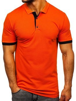 Men's Polo Shirt Orange Bolf 171222-1