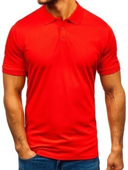 Men's Polo Shirt Orange Bolf 9025