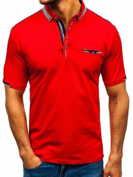 Men's Polo Shirt Red Bolf 192034