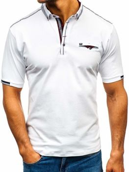 Men's Polo Shirt White Bolf 192034