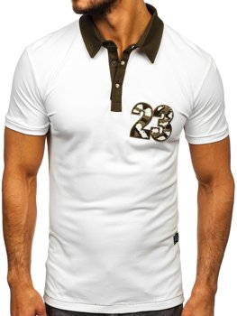 Men's Polo Shirt White Bolf 2058