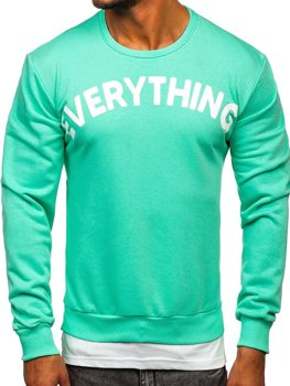 Men's Prined Sweatshirt Mint Bolf 181905