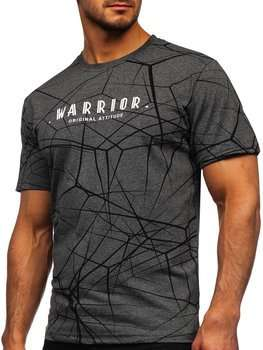 Men's Printed T-shirt Grey Bolf SS10935