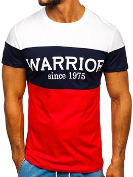 Men's Printed T-shirt Red Bolf 100693