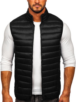 Men's Quilted Gilet Black Bolf LY32