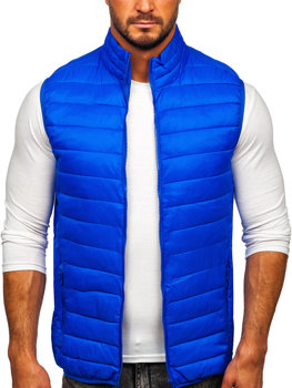 Men's Quilted Gilet Blue Bolf LY32