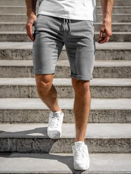 Men's Shorts Grey Bolf KG3723