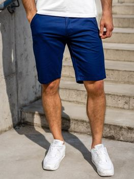 Men's Shorts Navy Blue Bolf 1140