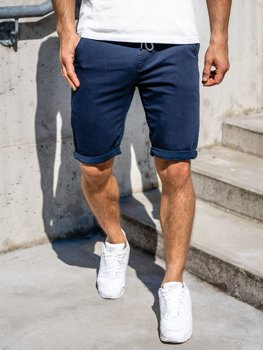Men's Shorts Navy Blue Bolf KG3722