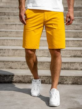 Men's Shorts Yellow Bolf 1140