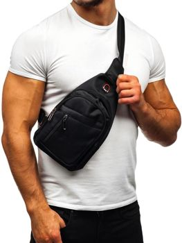 Men's Shoulder Bum Bag Black Bolf T50